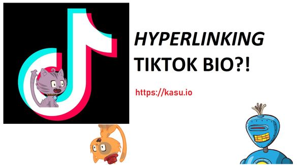 How to add hyperlink to your TikTok bio?